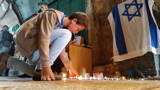 רחוב הגיא בירושלים שבו אירעו שני הפיגועים (צילום: אלי מנדלבאום) (צילום: אלי מנדלבאום)