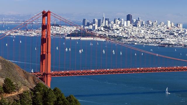 The Golden Gate Bridge in San Francisco (Photo: Shutterstock)