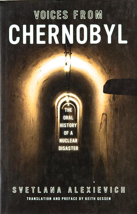 ספרה של אלכסייביץ', המסקר את זיכרונות אסון צ'רנוביל ()