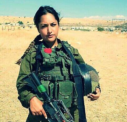 Ornella. Serves in the Lions of Jordan Battalion (Photo: IDF Spokesperson's Unit)