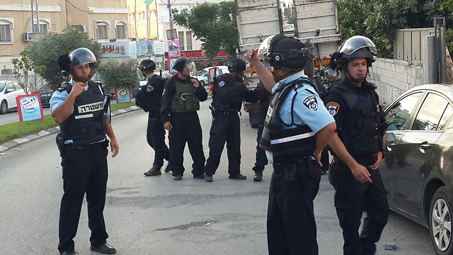 Police in Taybeh