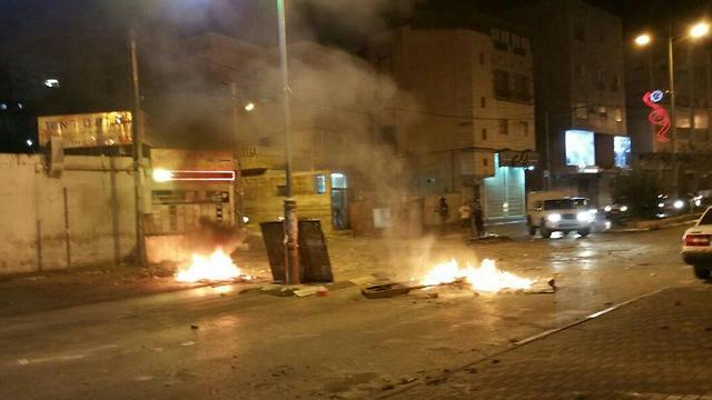 Clashes in Nazareth (Photo: Mohammed Shinawi)