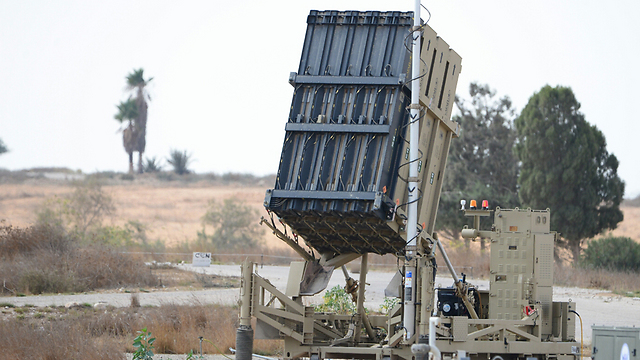Iron Dome near Be'er Sheva (Photo: Herzl Yosef)