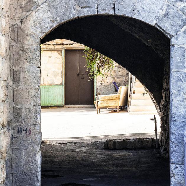ינוח. בתים עתיקים, מורשת ותצפיות נוף