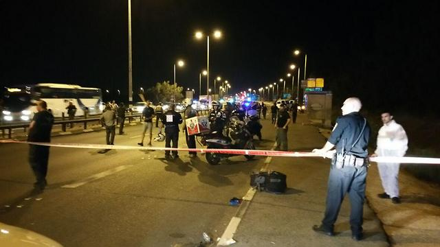 Scene of the attack (Photo: George Ginsburg)