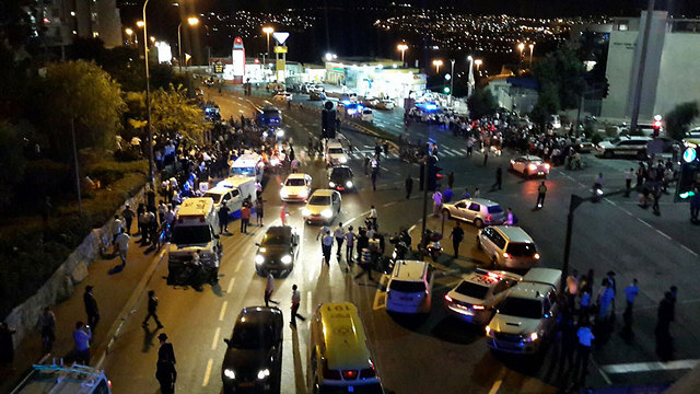 Scene of incident (Photo: TPS)