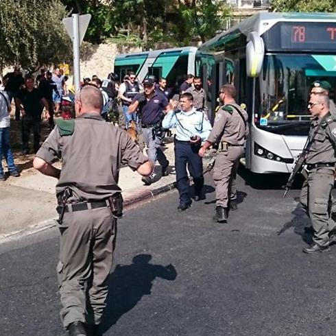 פיגוע ברחוב עולי הגרדום, ירושלים (צילום: שלומי כהן) (צילום: שלומי כהן)