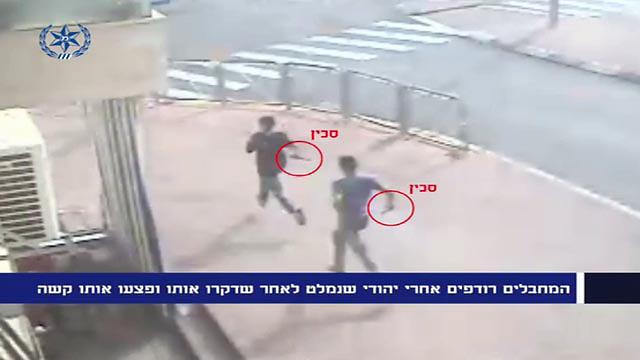 תעוד הפיגוע בפסגת זאב שבו השתתף מנאסרה (צילום: חטיבת דובר המשטרה) (צילום: חטיבת דובר המשטרה)
