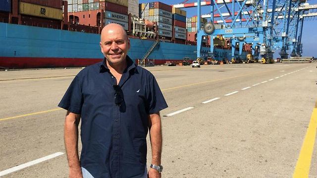 """מנכ""""ל נמל חיפה, מנדי זלצמן ()"""