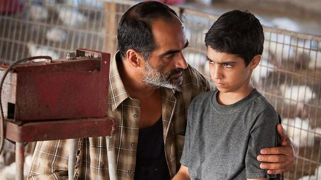 Asher Avrahami and Navid Negahban in 'Baba Joon' (Photo: Yoray Liberman)
