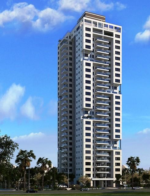 פרויקט ויסטה נתניה. לא עוד מגדל מלבני רצוף בדירות ()