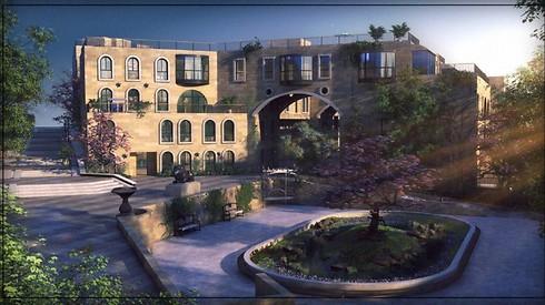 פרויקט דמרי לגסי. הכי קרוב לחומות העיר העתיקה ()