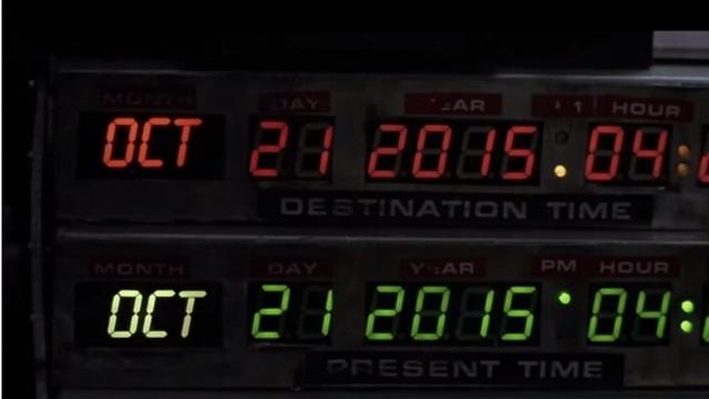 """העתיד כבר כאן. """"בחזרה לעתיד 2"""" (צילום מסך) (צילום מסך)"""