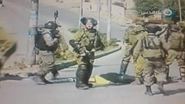 Still from al-Quds footage