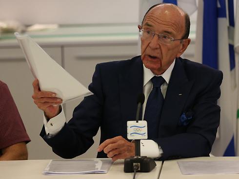 בכיר בוועד האולימפי הבינלאומי (צילום: אורן אהרוני) (צילום: אורן אהרוני)