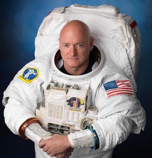 Астронавт Скотт Келли. Фото: твиттер