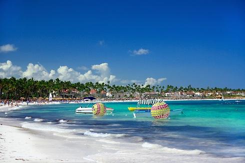 לנחות ולא להאמין: חוף הים של פונטה קאנה (צילום באדיבות: smartair.co.il) (צילום באדיבות: smartair.co.il)