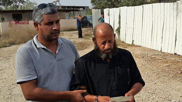 Khalil al-Okbi claims his son was executed.