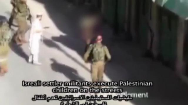 Settler shoots Palestinian attacker in self-defense.