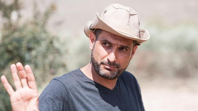 Director Yuval Delshad. Grew up in Moshav Zrahia, which was built on the ruins of a Palestinian village (Photo: Yoray Liberman)