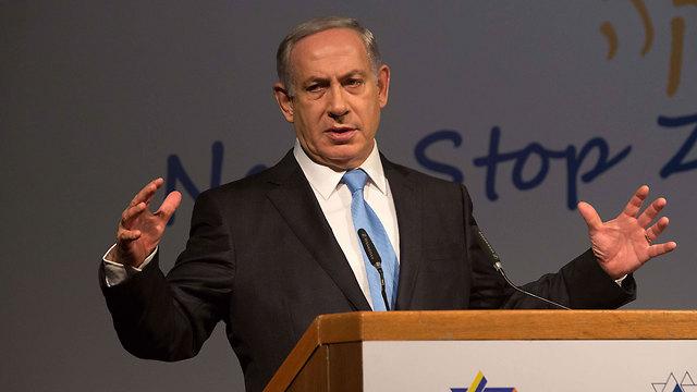 Netanyahu blames the mufti (Photo: AFP)