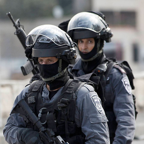 Border Policemen in East Jerusalem (Photo: AP)