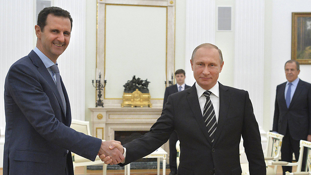 Putin with Assad (Photo: Russia)