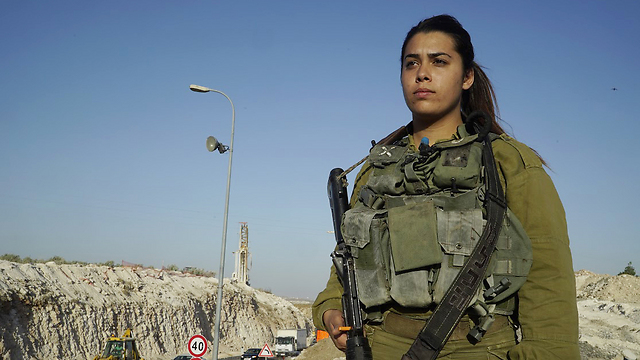 Lihi Malka, who shot the terrorist (Photo: IDF Spokesman)