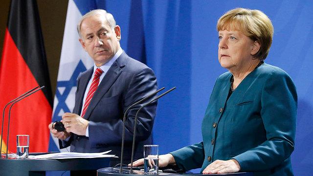 Netanyahu and Merkel (Photo: Reuters) (Photo: Reuters)