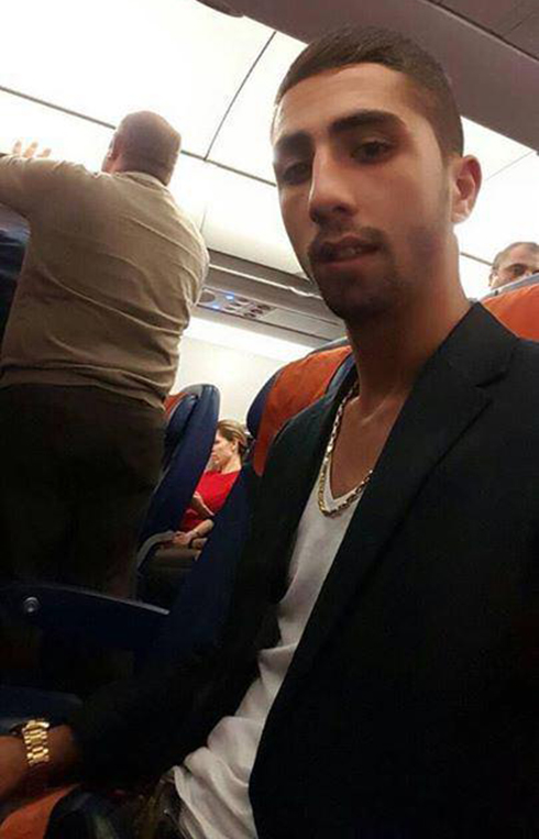 מרטויאן במטוס בדרך לישראל ()