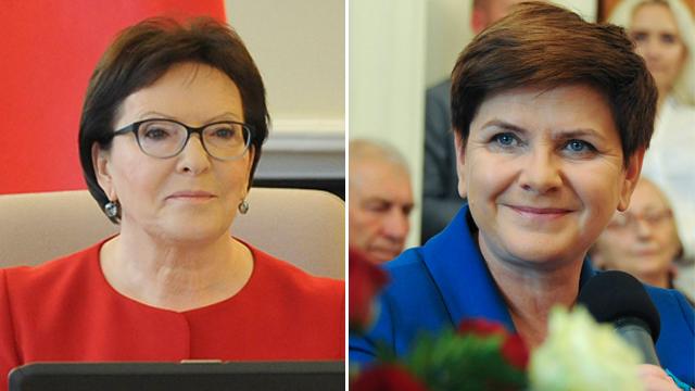 באטה סידלו (מימין) וראש הממשלה אווה קופץ' (צילום: AP) (צילום: AP)