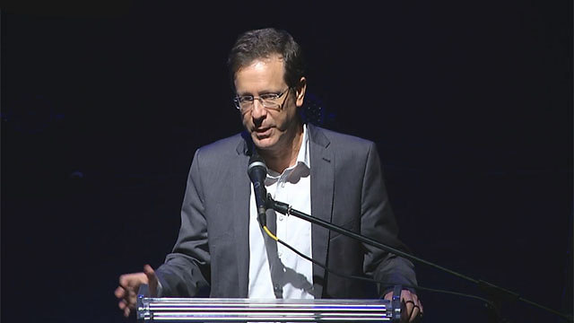 Opposition leader Herzog (Photo: Ido Becker)