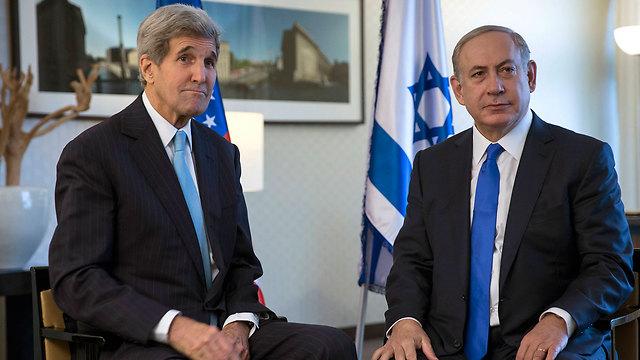 Kerry and Netanyahu (Photo: AP)
