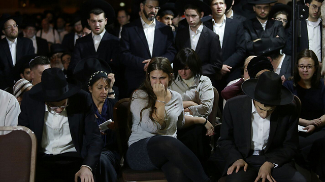 Rothman laid to rest in Jerusalem (Photo: Ohad Zwigenberg)