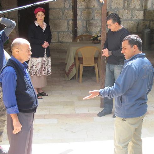 """סלים דאו ב""""עבודה ערבית"""" (צילום: קרן נתנזון) (צילום: קרן נתנזון)"""