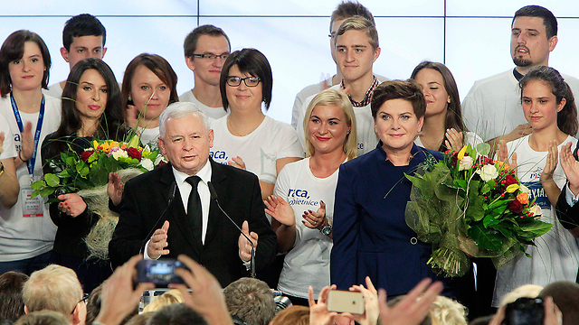 Leaders of Poland's Law and Justice party. The new law is an attempt by the Polish Right to impose its national narrative (Photo: AP)