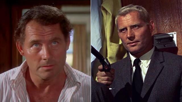 """רוברט שואו כרד גרנט ב-1963, ובסרט """"The Deep"""" מ-1977 ()"""