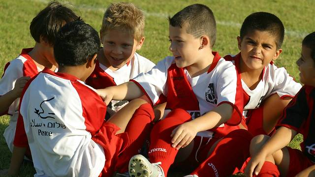 The Twinned Peace Sport School (Photo: Peres Center for Peace)