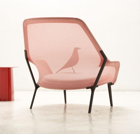 כיסא הרשת שעיצבו האחים בורולק ל''ויטרה'' (צילום: Tahon et Bouroullec)