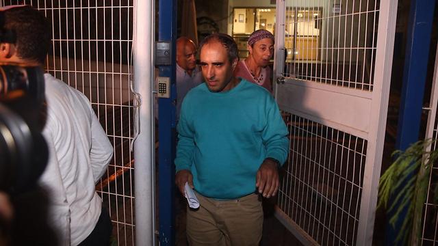 Хагай Амир выходит на свободу. Фото: Моти Кимхи