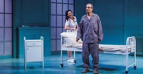 """""""האבא"""". תיאטרון מול המחלה (צילום: כפיר בולוטין) (צילום: כפיר בולוטין)"""