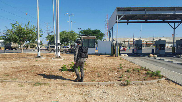 The Jalamah checkpoint in Jenin (Photo: Border Authority) (Photo: Ministry of Defense Passages Authority )