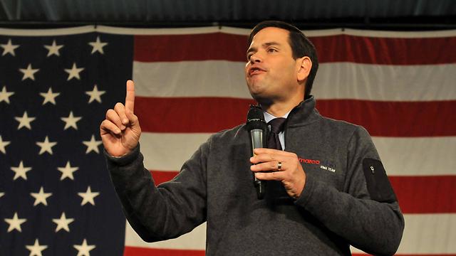 """""""הקמפיין שלי הוא על העתיד של אמריקה"""". רוביו (צילום: AFP) (צילום: AFP)"""