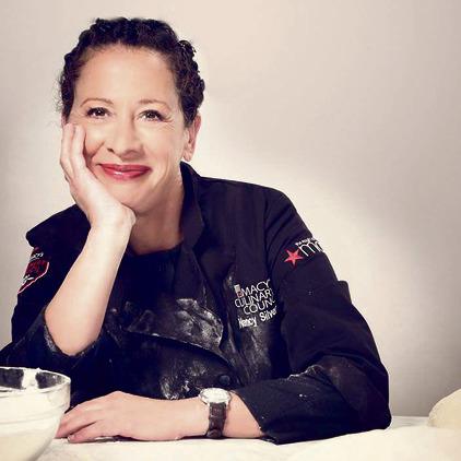 השפית ננסי סילברטון ממסעדת אוסטריה מוצה