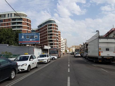 התשתיות הקורסות של רחוב סלמה לא מפריעות לפרויקטים לקום בזה אחר זה (צילום: ציפה קמפינסקי)