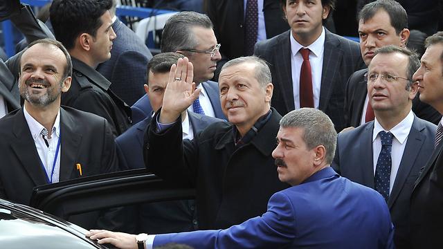 הנשיא ארדואן (צילום: MCT) (צילום: MCT)