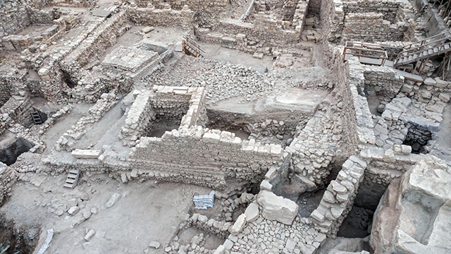 Remains of Greek fortress discovered at Jerusalem's City of David (Photo: IAA)