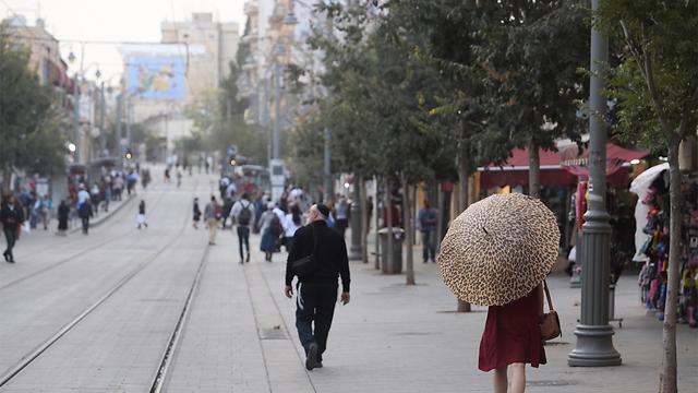 ירושלים, אחר הצהריים (צילום: גיל יוחנן)