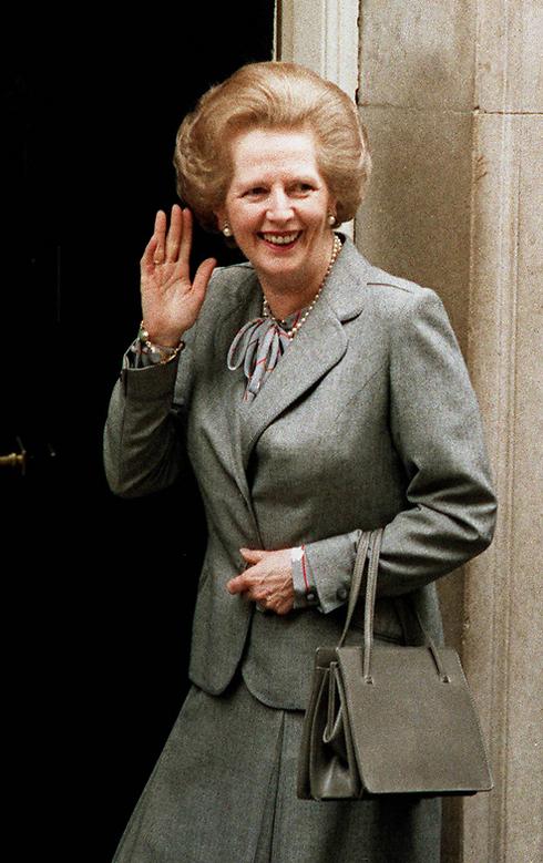 זינקה מעמדת האאוטסיידרית להנהגת השמרנית והממלכה. מרגרט תאצ'ר (צילום: AFP) (צילום: AFP)