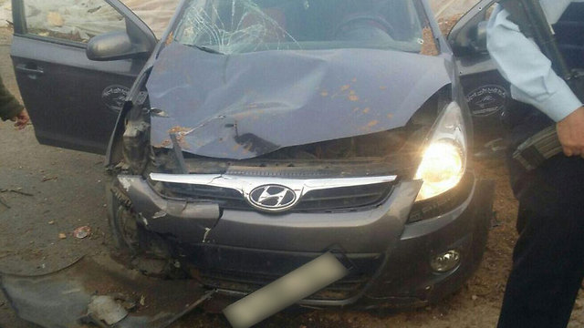 Car used by attacker